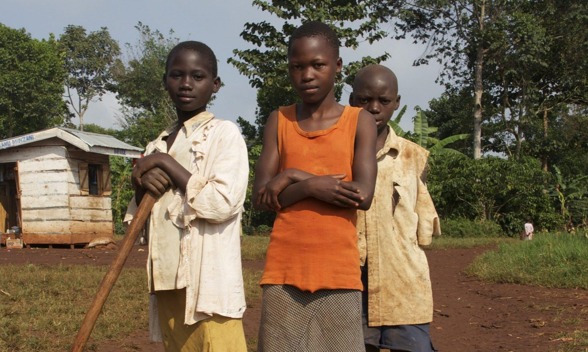 Strassenkinder-Tansania